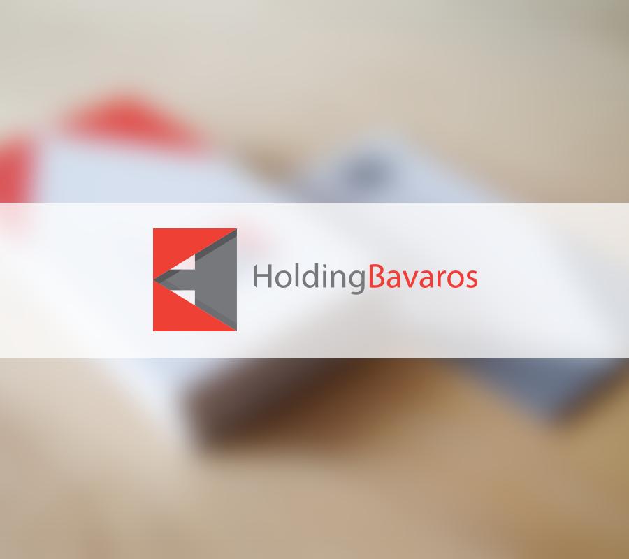 Identidad Corporativa, Logotipo Bavaros Holding - UNOUNO Estudio Creativo